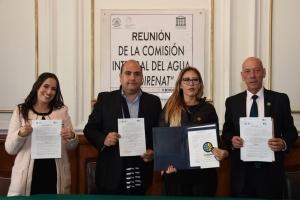 Recibe diputada Wendy González Urrutia  manifiesto para la CDMX del COIRENAT