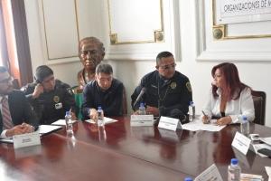 Acuerdan ALDF, SSP y PGJ CDMX trabajar con organizaciones para abatir  el robo de motocicletas en la entidad