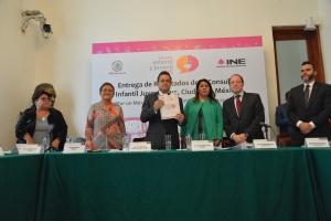 La participación de la niñez nos marca una ruta para crear políticas públicas específicas: Leonel Luna Estrada