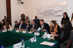 Reconoce ALDF requerimientos económicos de organismos  encargados de impartir justicia