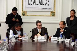 Avanza ALDF en proyecto de la Ley de Alcaldías