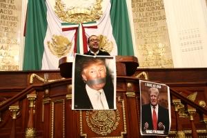 Declara ALDF moralmente persona non grata a Donald Trump