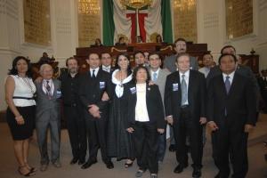 ENTREGA ALDF MEDALLA AL MÉRITO EN CIENCIAS, ARTES, EJECUCIÓN MUSICAL Y ARTÍSTICA 2012