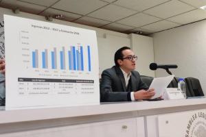Necesario reducir la brecha entre los recursos recaudados y los estimados en la Ley de Ingresos de la CDMX: dip. Andrés Atayde