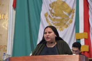 Solicita Citlalli Hernández a Protección Civil y a la delegación Iztacalco, atender la grieta de la calle 241 b en la colonia Agrícola Oriental
