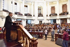 Justicia distributiva debe regir Ley de reconstrucción de la CDMX: Raúl Flores