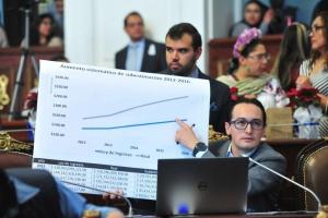 Más recursos para reconstrucción, sin afectar a la ciudadanía: dip. Andrés Atayde