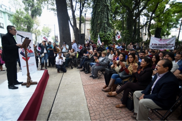 Presenta Suárez del Real su tercer informe de acciones legislativas