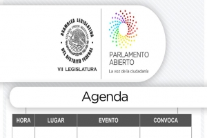 Agenda viernes 10 de marzo de 2017