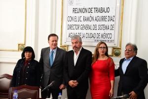 Urge implementar proyecto a largo plazo para garantizar agua en metrópoli: Aguirre Díaz