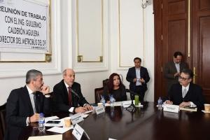 Expone director del Metrobús a ALDF proyecto de línea 7