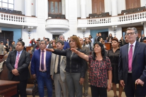 La Diputación Permanente toma protesta a diputadas suplentes
