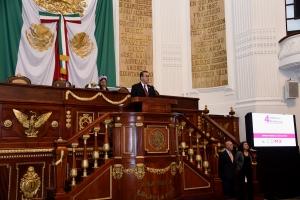 Respondió el Contralor General de la Ciudad de México cuestionamientos de diputados de la ALDF sobre acciones contra la corrupción