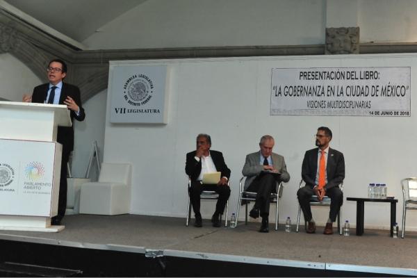El libro La Gobernanza de la Ciudad de México  será un apoyo para impulsores de la democracia