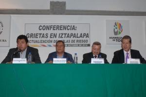 EXISTEN EN IZTAPALAPA AL MENOS MIL 71 MANIFESTACIONES DE GRIETAS
