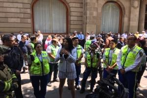 Altavoces de alerta sísmica en CDMX deben garantizar funcionamiento al cien por ciento: protección civil de ALDF