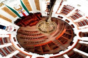 Martes y jueves, Sesión Ordinaria del Segundo Periodo de la VII Legislatura