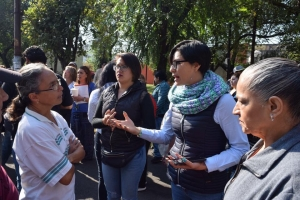 Vecinos de Santa Úrsula Xitla se oponen a Patio Tlalpan; diputada del PAN examinará irregularidades de la obra