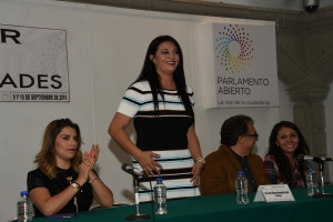 Constitución CDMX evita privatización del agua: Janet Hernández