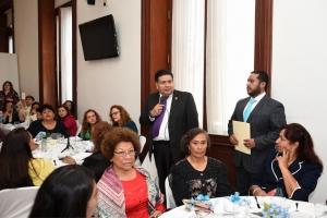 La ALDF refrenda su compromiso de fortalecer el marco legal en defensa de los derechos de las mujeres