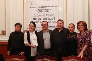 Presentan en ALDF libro Suicidio: señales silenciosas