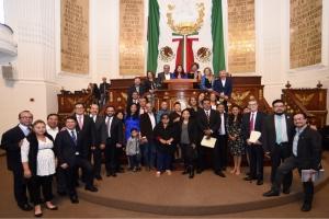 Clausura la Asamblea Legislativa del Distrito Federal los trabajos de la VII Legislatura