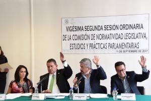 Avanza el proyecto de dictamen para la Ley Orgánica del Congreso de la Ciudad de México