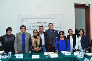 Pide Rosa Icela Rodríguez respaldar programas sociales de delegaciones rurales
