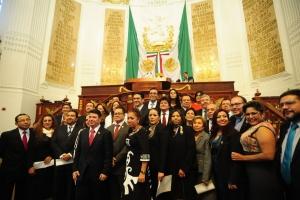 ALDF ratificó y designó a 18 magistrados al TSJDF