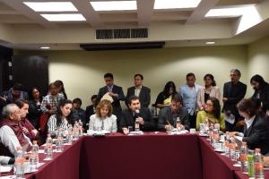 Urbanistas se manifiestan en contra de la Ley de Reconstrucción de Mancera