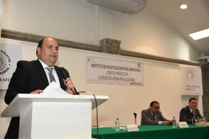 Destaca Instituto de Investigaciones Parlamentarias amplia participación en curso sobre Sistema Penal Acusatorio