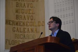 Reducción de subestimación y sensibilidad con damnificados del 19-S imperan en Código Fiscal y Ley de Ingresos 2018 de la CDMX: dip. Andrés Atayde