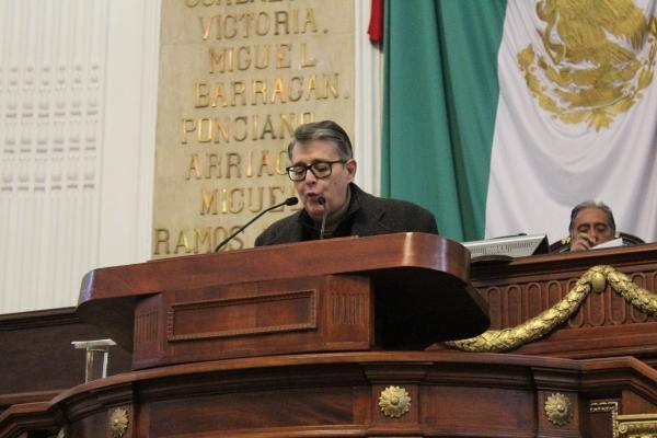 Exige Suárez del Real a autoridades capitalinas informar sobre torre de 34 niveles en Paseo de los Laureles 278