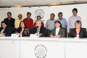 Inconcebible que partidos políticos favorezcan acoso de inmobiliarias a pueblos indígenas: Raúl Flores