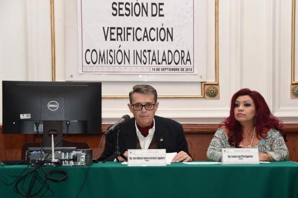 La Comisión Instaladora de la ALDF recibió la resolución del TEPJF  respecto de la asignación de diputados plurinominales al Congreso de la Ciudad de México