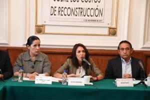 Reconstrucción de 18 edificios colapsados en Cuauhtémoc costaría mil 52 mdp: diputada Ludlow Deloya