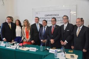 Comparece delegado de V. Carranza