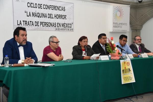 Finaliza ciclo de conferencias sobre trata de personas