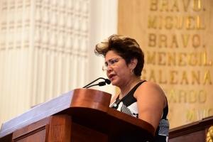 Que se tipifique difusión en redes sociales de imágenes de víctimas de acoso sexual: Nury Ruiz
