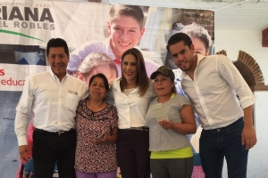 Mariana Moguel trabaja con Sedesol para beneficiar a familias de Milpa Alta