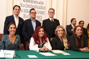 Comisión Instaladora inicia proceso de transformación hacia Congreso de la Ciudad de México