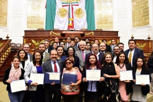Clausuran diplomado Transformaciones Urbanas y Reforma Política