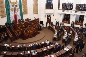 Diputación Permanente aprobó puntos de acuerdo en materia de obras