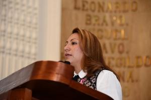 Va Jany Robles por prohibición de venta de alcohol en estadios