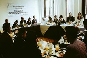 Celebró Instituto de Investigaciones Parlamentarias Tercer Encuentro con Organizaciones de la Sociedad Civil