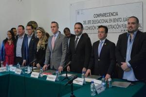 Rendición de cuentas de delegaciones genera confianza en ciudadanos: Rubalcava